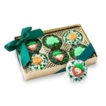 Belgian Chocolate St. Patrick's Day Oreos®- Gold Box of 6