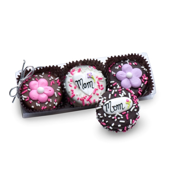 Clear Acrylic Gift Box of 3 Mother's Day Oreos®