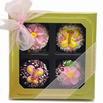 Mother's Day Dipped & Decorated Oreos® Box of 4