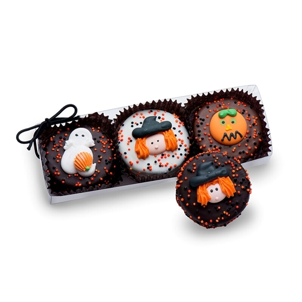 Clear Acrylic Gift Box of 3 Halloween Oreos®