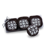 Clear Acrylic Gift Box of 3 Snowflake Oreos®
