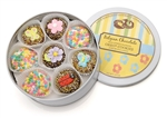 Spring Tin of 16 Belgian Chocolate Oreos®