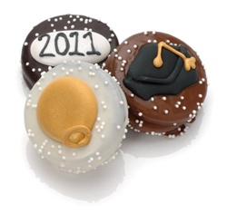 Graduation Chocolate Dipped Oreos®-Individually Wrapped