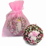 New Baby Girl Oreo® Cookies- 1/Organza Bag
