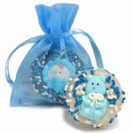 New Baby Boy Oreo® Cookies- 1/Organza Bag