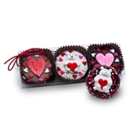 Clear Acrylic Gift Box of 3 Valentine Oreos®