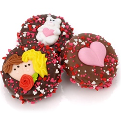 Belgian Chocolate Valentine Oreos®- Individually Wrapped