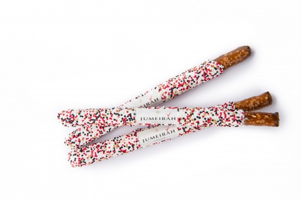 Logo Pretzel Wands- Individually Wrapped