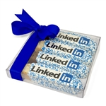 Corporate Logo Picture Biscotti Gift Box of 4