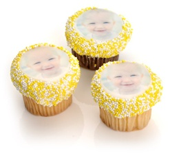 Picture Mini Cupcake- Individually Wrapped