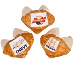 Logo Gold Sprinkles Fortune Cookies- Individually Wrapped