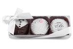 Bride & Groom Gift Box of 3 Oreos®