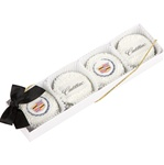 Clear View Box of 4 Oreo® Picture Cookies Tied With Ribbon