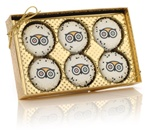 Gold Clear View Box of 6 Oreo® Picture Cookies