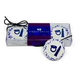 Clear Acetate Gift Box of 3 Logo Oreos® with Branded Custom Sleeve