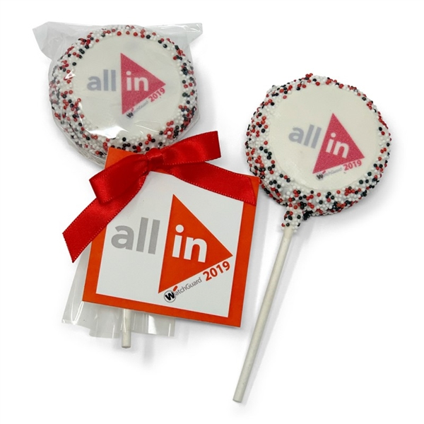Picture Oreo® Pop With Hang Tag and Bow