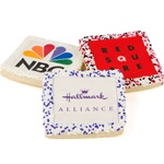 "Picture Sugar Cookies, White Chocolate, 2.5"" Square- Individually Wrapped"