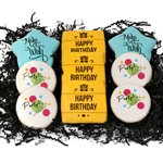 Printed Cookie Theme Boxes- Birthday
