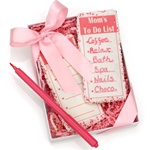 """Mom's To Do List"" Cookies & Edible Food Pen- Gift Set"