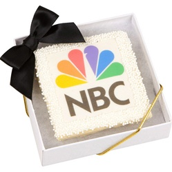 Corporate Picture Cookie Favor Box