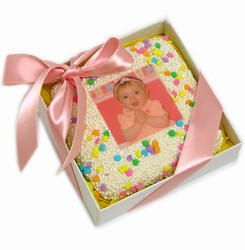 Picture Cookie Favor Box-Baby Girl