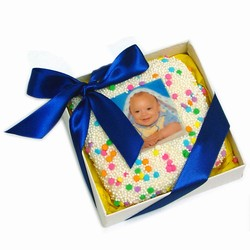 Picture Cookie Favor Box-Baby Boy