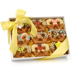 Spring Chocolate Pretzel Twists, Box of 9