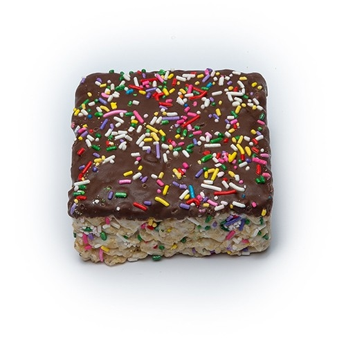 Chocolate Sprinkles Crizpy Cake