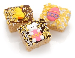 Easter Chocolate Dipped Mini Crizpy ®- Individually Wrapped