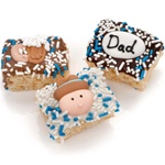 Father's Day Chocolate Dipped Mini Crizpy ®- Individually Wrapped