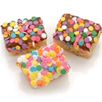 Confetti Chocolate Dipped Mini Crizpy ®- Individually Wrapped