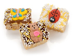 Spring Chocolate Dipped Mini Crizpy ®- Individually Wrapped