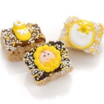 New Baby Neutral Chocolate Dipped Mini Crizpy ®- Individually Wrapped