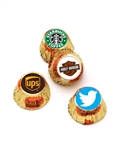 "Reeses' Miniature Cups- .75"" Round Custom Labels"