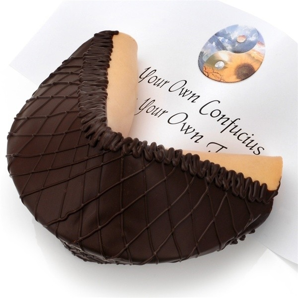 Super Giant Dark Chocolate Lover's Gourmet Fortune Cookie