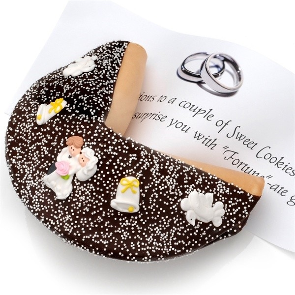 Wedding Super Giant Fortune Cookie