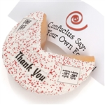 """Thank You"" Decorated Super Giant Fortune Cookie"