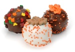 Autumn Leaves Belgian Truffle Cake Bons