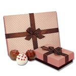 Romantic Belgian Truffle Cake Bons- Candy Box of 9