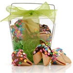® Take Out Pail of 6 Confetti Fortune Cookies