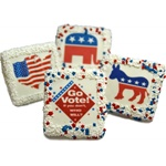 Go Vote! Chocolate Covered Graham Crackers