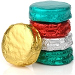 Foil Wrapped Belgian Chocolate Dipped Oreos®- Individually Wrapped