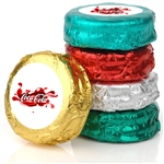 Logo Foil Wrapped Belgian Chocolate Dipped Oreos®- Individually Wrapped