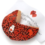 ® Valentine Decorated Giant Fortune Cookie
