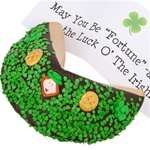 ® Saint Patrick's Day Giant Fortune Cookie