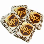 UPS® Chocolate Grahams- White Chocolate Edition- Individually Wrapped