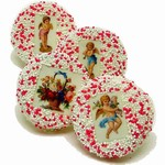 Vintage Victorian Wedding Cookies