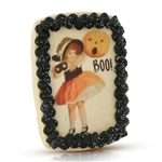 Vintage Plain Boo! Cookie Card