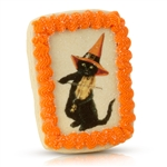 Vintage Plain Halloween Cookie Card