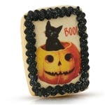 Vintage Plain Cat Boo! Cookie Card